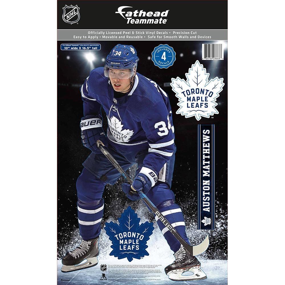 Fathead Nhl Teammate Toronto Maple Leafs Auston Matthews Wall Decal Pure Hockey Equipment