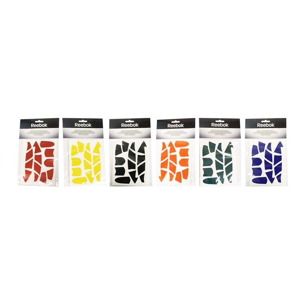 Assorted colors reebok custom hockey helmet stickers