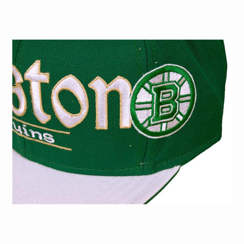 Patricks Day Snapback Hat Reebok Boston Bruins St