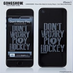 Gongshow Play Hockey iPhone 5 Skin