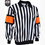 Force Pro Referee Jersey w/ Orange Armbands - Mens