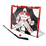 "Bauer Street Hockey Goal w/ Shooter Tutor, Stick & Ball - 48"" x 37"" x 18"""