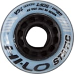 Mission Hi-Lo Static Inline Hockey Wheel - Blue