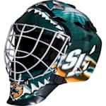 Franklin GFM1500 NHL Decal Street Hockey Goalie Mask