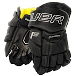 Bauer Supreme 1S Hockey Gloves - 2017 - Youth