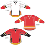 Reebok 25P00 NHL Edge Gamewear Hockey Jersey - Calgary Flames - Junior