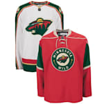 Reebok 7187 Authentic Replica Hockey Jersey - Minnesota Wild - Adult