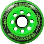 Labeda Addiction XXX Inline Hockey Wheels - Black/Orange