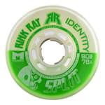 Rink Rat Identity Split Inline Hockey Wheels - Green/White