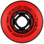 Revision Variant Plus Indoor Inline Hockey Wheels - 74A - Red