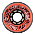 Rink Rat World Cup Inline Hockey Wheels - Orange/Black