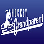 Slapshot Stickers Hockey Grandparent Sticker
