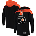 Fanatics Philadelphia Flyers Fleece Lace Up Hoody - Adult