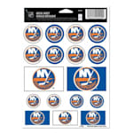 Wincraft NHL Wincraft Vinyl Sticker Sheet - New York Islanders