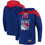 Fanatics New York Rangers Fleece Lace Up Hoody - Adult