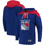 Fanatics New York Rangers Fleece Lace Up Hoody - Adult