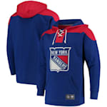Fanatics New York Rangers Fleece Lace Up Hoody - Mens