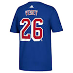 Adidas New York Rangers Vesey Tee - Mens