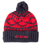 CCM Pure Hockey Exclusive Cuffed Pom Knit Hat - Adult