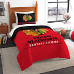 "Northwest Company NHL ""Draft"" Twin Comforter & Sham"