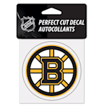 "Wincraft NHL Perfect Cut Color Decal - 4"" x 4"" - Boston Bruins"