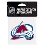 "Wincraft NHL Perfect Cut Color Decal - 4"" x 4"" - Colorado Avalanche"