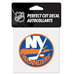 "Wincraft NHL Perfect Cut Color Decal - 4"" x 4"" - New York Islanders"