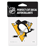 "Wincraft NHL Perfect Cut Color Decal - 4"" x 4"" - Pittsburgh Penguins"