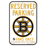 Wincraft NHL Reserved Parking Sign - Boston Bruins