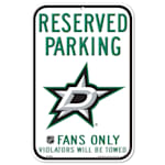 Wincraft NHL Reserved Parking Sign - Dallas Stars