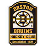 "Wincraft NHL Wood Sign - 11"" x 17"" - Boston Bruins"