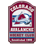 "Wincraft NHL Wood Sign - 11""  x 17""  - Colorado Avalanche"