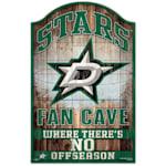 """Wincraft NHL Wood Sign - 11"""" x 17"""" - Dallas Stars"""
