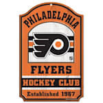 "Wincraft NHL Wood Sign - 11"" x 17"" - Philadelphia Flyers"
