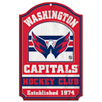 "Wincraft NHL Wood Sign - 11""  x 17""  - Washington Capitals"