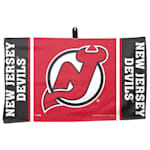 "Wincraft NHL Golf Waffle Towel - 14""  x 24"" - New Jersey Devils"