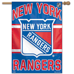 "Wincraft NHL Vertical Flag - 27"" x 37"" - New York Rangers"