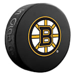 InGlasco NHL Basic Logo Puck - Boston Bruins