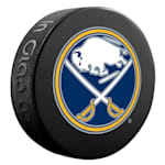 InGlasco NHL Basic Logo Puck - Buffalo Sabres