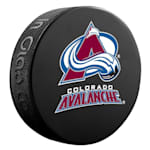InGlasco NHL Basic Logo Puck - Colorado Avalanche