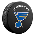 InGlasco NHL Basic Logo Puck - St. Louis Blues
