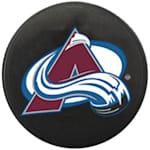 InGlasco NHL Mini Puck Charms - Colorado Avalanche