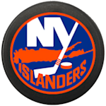 InGlasco NHL Mini Puck Charms - New York Islanders