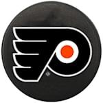 InGlasco NHL Mini Puck Charms - Philadelphia Flyers