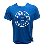 Sauce Hockey Drinking Uniform Tee - Royal - Adult