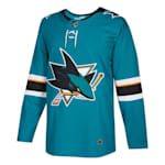 Adidas NHL San Jose Sharks Authentic Jersey - Adult