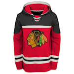 Adidas Chicago Blackhawks Asset Pullover Hoodie - Youth