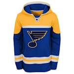 Adidas St. Louis Blues Asset Pullover Hoodie - Youth