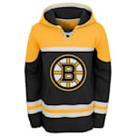 Adidas Boston Bruins Asset Pullover Hoodie - Youth