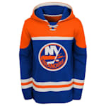 Adidas New York Islanders Asset Pullover Hoodie - Youth